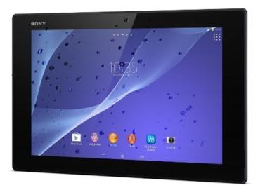 Sony Xperia Tablet Z2 von rechts